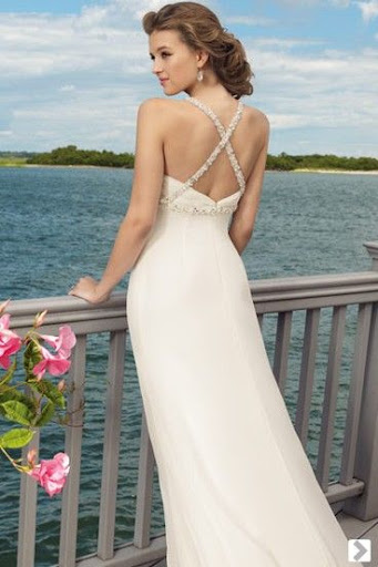 Beach Bridal Gown