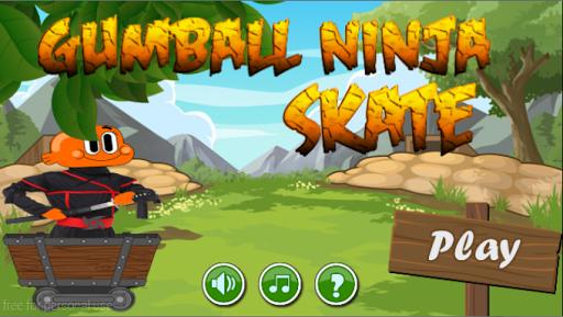 Gumball ninja skate