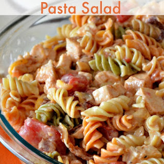 Easy Pasta Salad-Southwestern Chicken