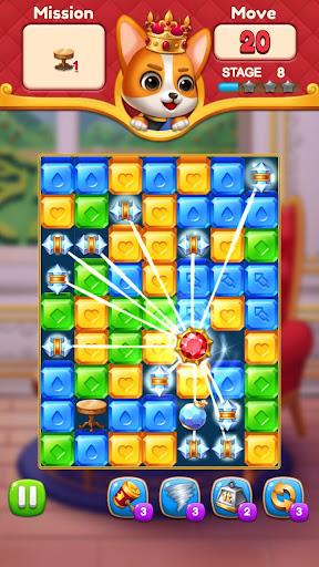Jewels King : Castle Blast screenshots 6