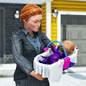 Virtual Mother Office Life Simulator 3D: Job Game icon