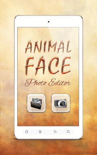 動物的臉 照片蒙太奇