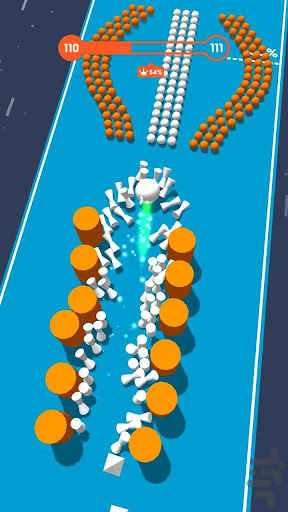 Color Crush 3D: Block and Ball Color Bump Game screenshots 14