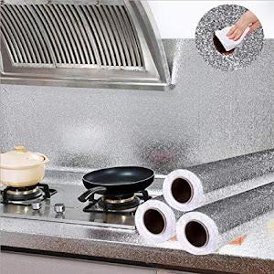 Folie de aluminiu adeziva argintiu 60 x 300 cm