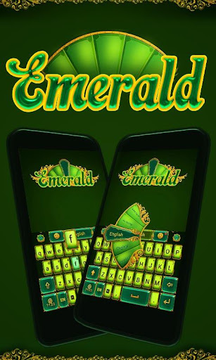 Emerald GO KeyboardTheme Emoji