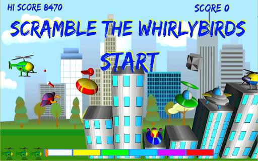 Scramble The Whirlybirds 1.1 screenshots 1
