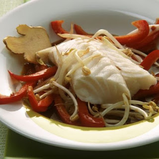 Ginger Fish Fillet with Beansprouts