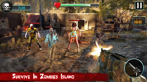 Counter Zombie Frontline Attack: FPS Shooter 3D 1.0.1 screenshots 5