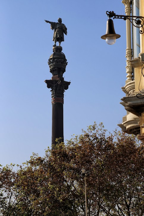 Barcelona, Monument a Colom