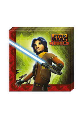 Star Wars Rebels Servetter 20st