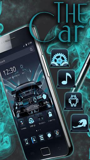 Neon car Theme screenshots 3