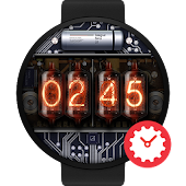 Nixie watchface by DesignerKang