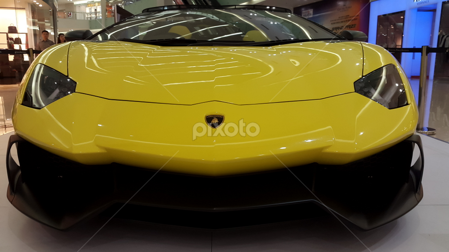 Yellow Bull by Timmothy Tjandra - Instagram & Mobile Android ( automobiles, car, automobile, cars, lamborghini,  )