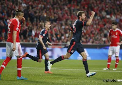 "Rui Vitoria: ""Nous avons rivalisé avec le Bayern"""