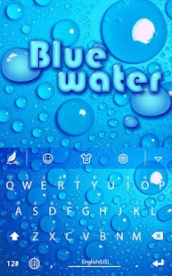 Blue water for Hitap Keyboard Screenshot