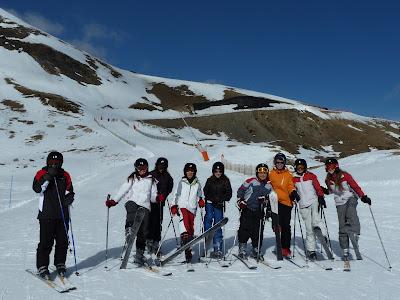 Esquiar és una de les activitats proposades per a la Setmana Blanca.