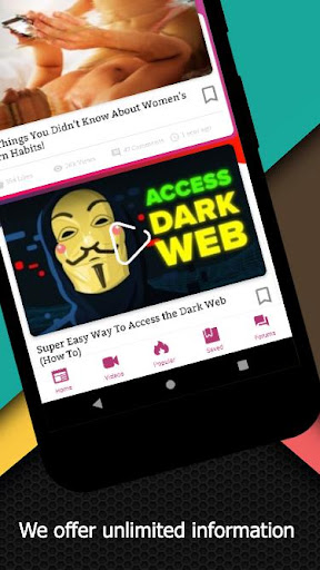 Darknet - Dark Web and Tor : Discover the Power Apk 2