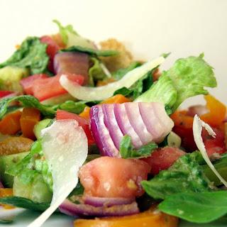 Panzanella (Tuscan Bread Salad).