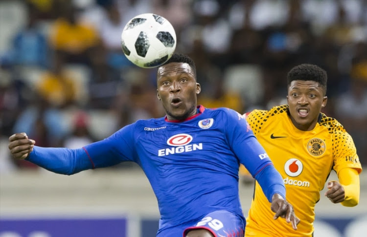 Morgan Gould of Supersport United during the Absa Premiership match between SuperSport United and Kaizer Chiefs at Mbombela Stadium on January 06, 2018 in Nelspruit, South Africa.