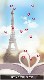 Paříž Živé Tapety Zdarma - náhled
