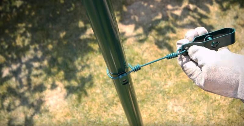 Tendifilo e palo recinzione