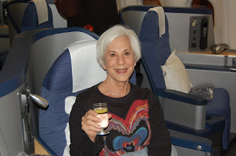 Photo: The flight to Israel
