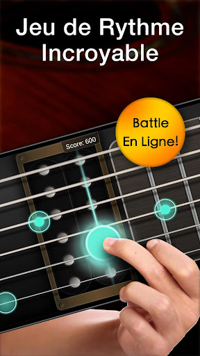 Real Guitare Gratuite - Jeu de Rythme & Accords  captures d'écran 2