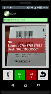 KUSA – Barcode verification check 5