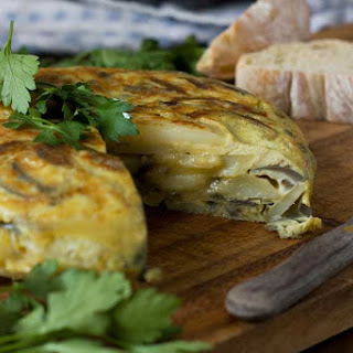 Spanish Omelette (Tortilla De Patatas) Recipe