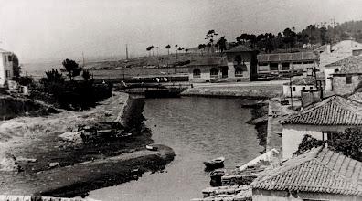 Photo: Final do río  Gafos xa urbanizado