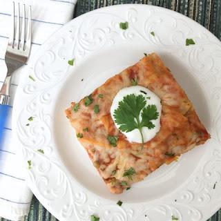Lentil Enchilada Bake