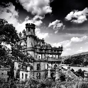 Bannerman Castle Ruins by Brandon Rechten - Buildings & Architecture Other Exteriors ( pwcbuilding )