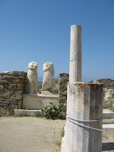 Photo: One of the few statues remaining in Delos