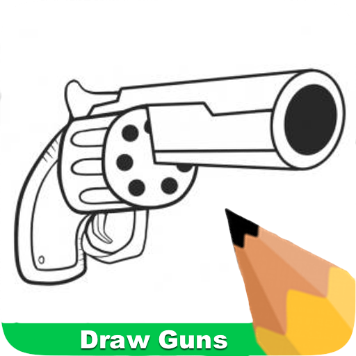 How To Draw Guns
