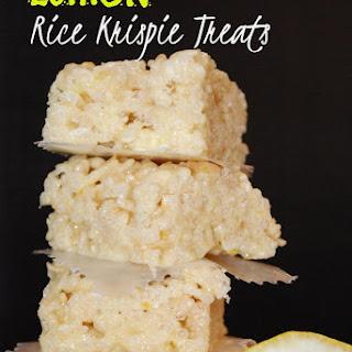 Lemon Rice Krispie.