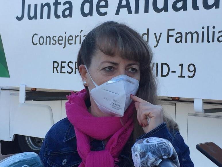 Ana, una de las asistentes a los cribados.