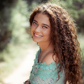 Leila by Hein Le Roux - People Portraits of Women ( hair, pretty, beauty, curly, model, girl, teenager )