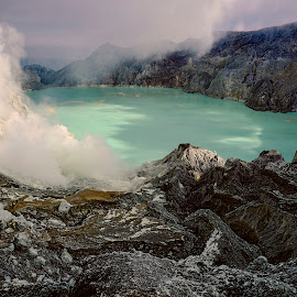 Ijen by Charles Mawa - Landscapes Mountains & Hills ( charlesmawa, landscape, photography )
