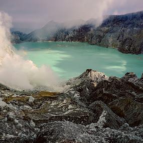 Ijen by Charles Mawa - Landscapes Mountains & Hills ( charlesmawa, landscape, photography,  )