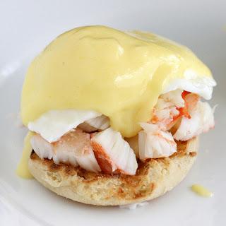 King Crab Eggs Benedict.