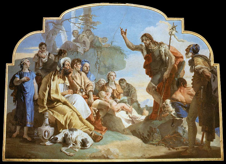 Giovanni Battistie Polo: Ivan Krstitelj propovijeda
