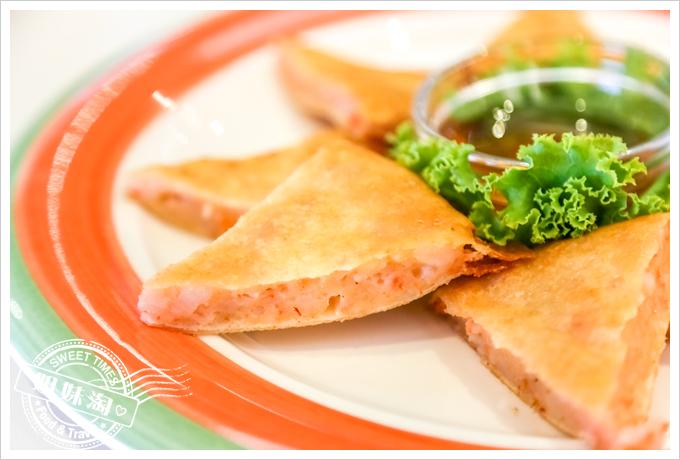 PAPAYA泰-泰式料理月亮蝦餅2