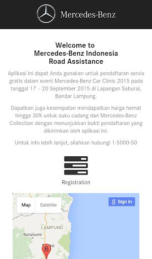 Mercedes-Benz Road Assistance