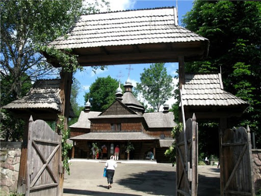 Wooden church in Kolomyya