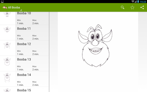 玩免費遊戲APP|下載How to draw Booba app不用錢|硬是要APP