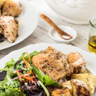 Chicken and Potato Sheet-Pan Supper.