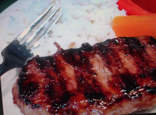 Orientle Steak With Peppers And Rice