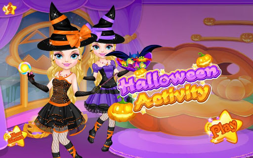 Princess Halloween Activity