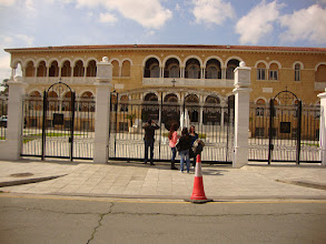 Photo: The Archbishop house in old Nicosia
