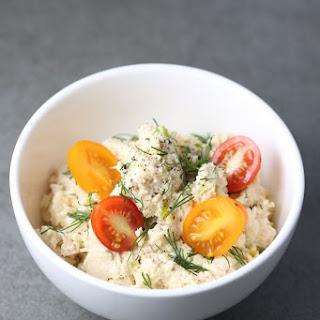 Healthy Tuna Salad Recipe with Egg.